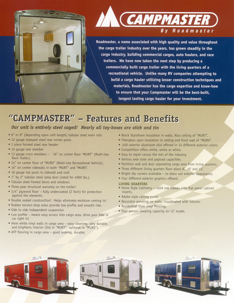 Campmaster Page